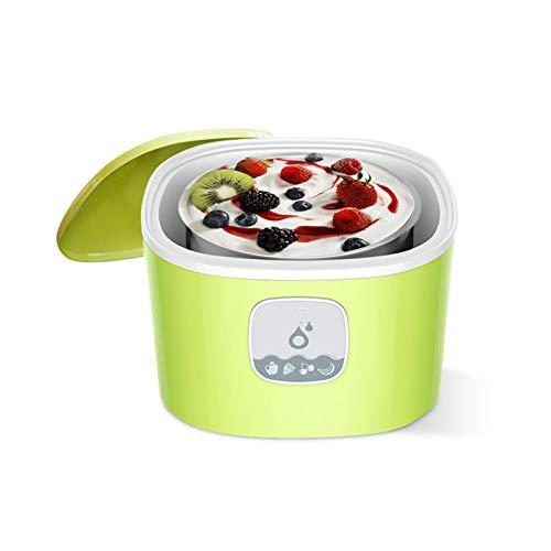 HKJZ SFLRW Interruptor automático fácil, de Encendido/Apagado, no se Necesita Sal, Helado cremoso, Gelato, Yogurt congelado o Sorbete (Color : A)