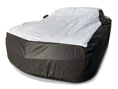 MFK zeBrush Tuxcover Custom Fits 2010-2021 Chevy Camaro Coupe LS LT Car Cover All Weatherproof Multi Tyvek Covers