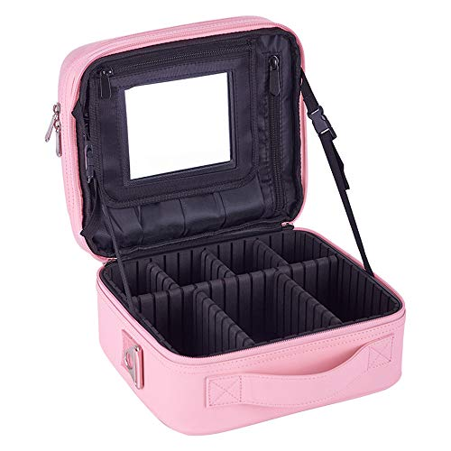 ZHHAOXINCO Classique Trousse de Toilette pour Hommes et Femmes | Trousse de Toilette Grand Homme Femme pour valises et Bagages à Main | Trousse de Voyage Sac de Lavage Cadeau, Pink