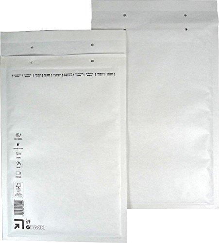 25 Luftpolsterumschlag Luftpolstertasche Versandtasche 6/F 240x350 mm
