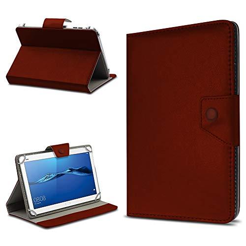 UC-Express Tablet Hülle für Huawei MediaPad T1 T2 T3 7.0 Schutz Tasche Hülle Schutzcover Ständer Farbwauswahl, Farben:Braun