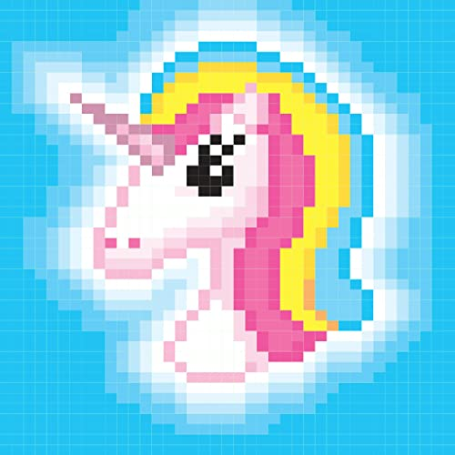 Pixel Art - Color By Number! Coloring Book for adults, kids and toddlers Free