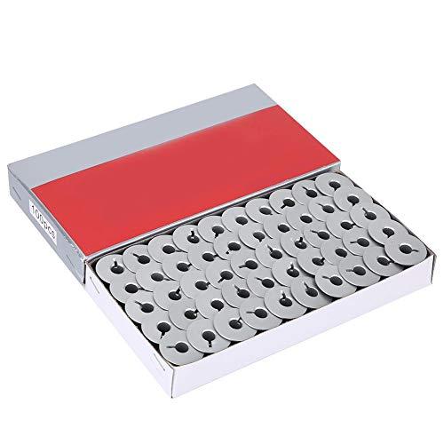 OKBY Bobine de Machine à Coudre -100 pièces 55623A bobines en Aluminium Fendues pour Les pièces de Machine à Coudre Industrielle