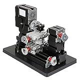 60W CNC Mini métal Rotating Tour machine 12000rpm moteur bricolage Broyage Forage Usinage 100-240 pour Bois Verre Métal Plastique Usinage UK Plug réglementation européenne