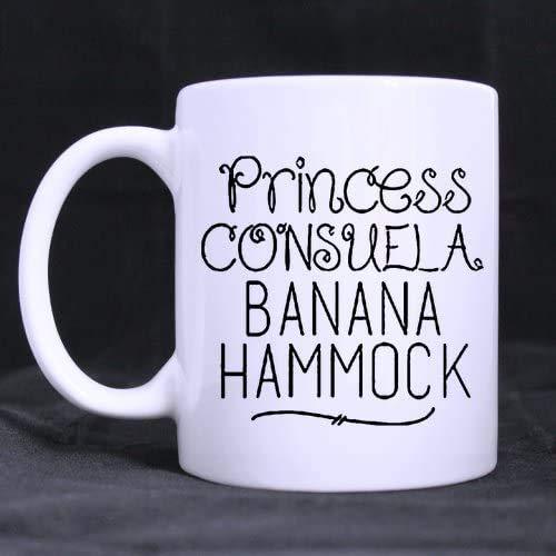 PICOM99 Crap Bag Princess Consuela Banana Hammock Coffee Mug Ceramic Mugs 11 Ounce