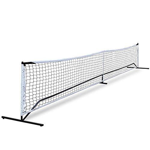 Red de bádminton portátil Dioche, 20 pies de tenis Pickleball Net Europa...