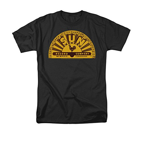 Sun Records Tradicional Logo - Sol Registros Adulto Camiseta