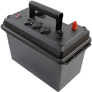Powerwerx PWRbox Portable Power Box for 12-40Ah Lithium Iron Phosphate (LiFePO4) Bioenno Batteries