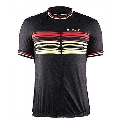 Uglyfrog Bike-T Full Zip Radsport Trikots Herren Cycling Top Special Designs Outdoor Männer Kurzarm Radtrikot Jersey Fahrradbekleidung