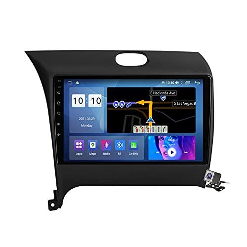 Gokiu Android 10 2 DIN Radio De Coche Navegacion GPS para KIA Cerato K3 Forte 2013-2015 Soporte 5G WiFi DSP/FM Am RDS Radio de Coche Estéreo Carplay Android Auto/Bluetooth SWC/Voice Control,M500s