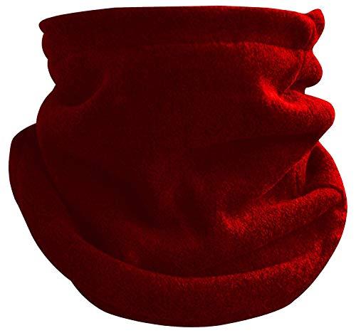 Octave® Unisexe Multi Fonction Col Polaire - Choix de Couleurs - Rouge, One Size