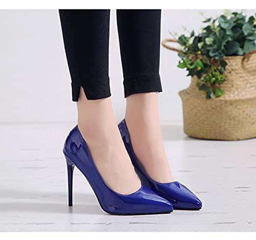 YHCS Moda Tacones Altos Bombas Zapatos de Mujer Verde Desnudo Rojo Azul...