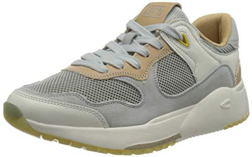 camel active Damen Ramble Sneaker, Light Grey, 39 EU