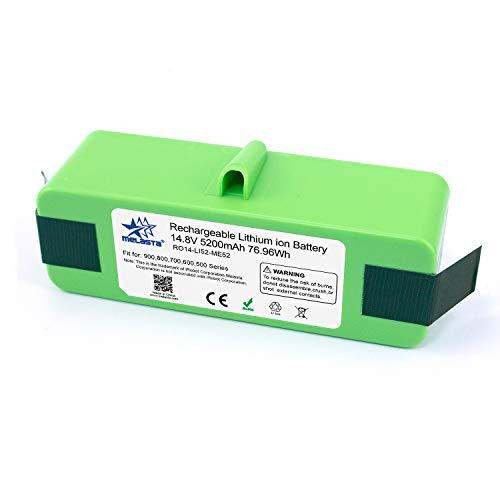 melasta batería de iones de litio de 14.8v 5200mAh de larga duración de compatible with 980 960 890 690 900 800 700 600 Series 985 966 880 870 790 780 770 655 650 640 614 615 620 -celdas UL&CE