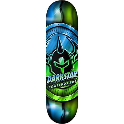 Darkstar Anodize Skateboard-Brett / Deck, 21 cm, Blau / Grün