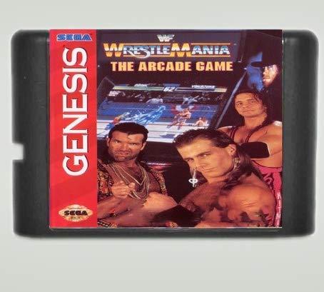Taka Co 16 Bit Sega MD Game WWF Wrestle Mania The Arcade Game 16 bit MD Game Card For Sega Mega Drive For Genesis