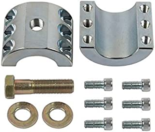 Synergy Manufacturing 8003-10 Suspension Stabilizer Bar Clamp Kit Jeep JK 1-5/8'' Steering Stabilizer Tie Rod Clamp (For 1.625'' OD Tie Rods)