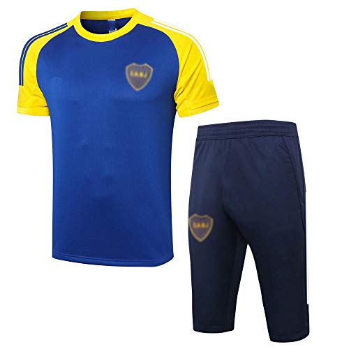 BK2 New Spring and Summer Men's Soccer Training Uniform Gift Soccer Club Training Fan Sports Jersey Traje.-A_Grande
