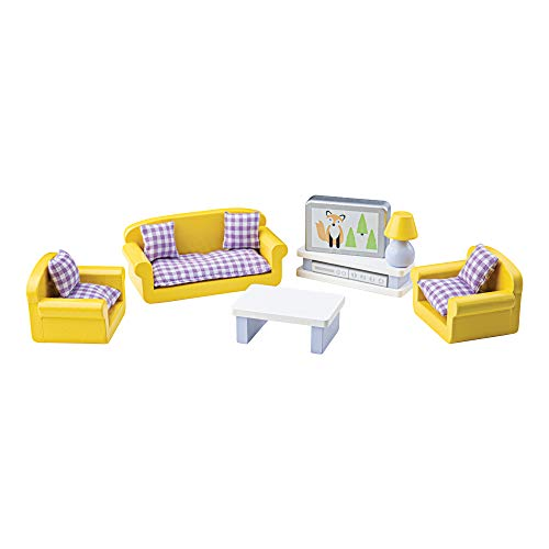 Tidlo T-0225 - Tidlington Wohnzimmer für das Puppenhaus