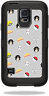 MightySkins Skin Compatible with OtterBox Defender Samsung Galaxy S5 Case wrap Cover Sticker Skins Anime Fan