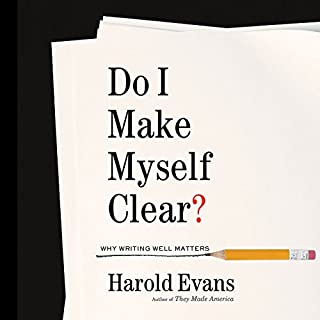 Do I Make Myself Clear? audiobook cover art