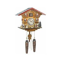 Trenkle Quartz Cuckoo Clock Swiss House with Music TU 449 QM HZZG