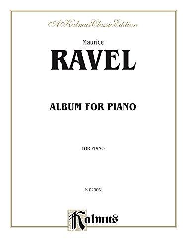 Album for Piano: Piano Collection (Kalmus Edition) (English Edition)