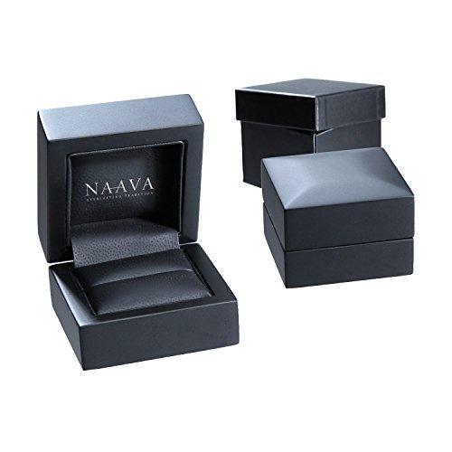Naava Women's 18 ct White Gold Tennis Bracelet, I/SI Certified Diamonds, Round Brilliant, 1ct