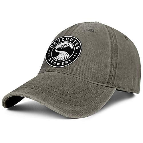 WintyHC Deschutes Brewery Beer Logo Cowboy Hat Trucker Caps One Size Baseball Cap