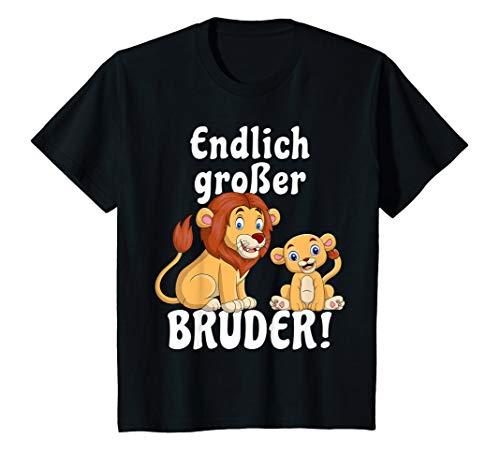 Kinder Großer Bruder TShirt Jungen Löwe Shirt Geschenk T-Shirt