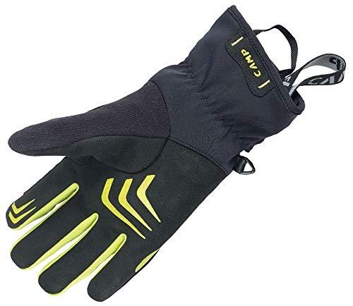 CAMP G Comp Warm Handschuhe, Black-Lime, L