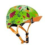 Bern Boys Tigre - Casco para niño (Talla XXS), Color Verde