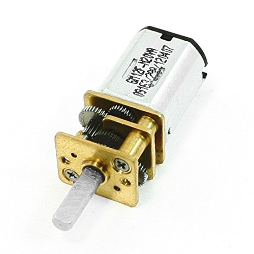 sourcingmap 60 T/MN Vitesse Réducteur Rectangle Forme N20# Magnétique Mini Motoréducteur 6V DC