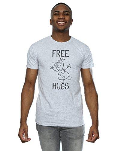 Disney hombre Frozen Olaf Free Hugs...
