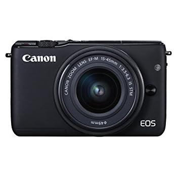 Canon EOS M10 - Cámara compacta con objetivo EF 15-45 mm (f/3,5-6 ...