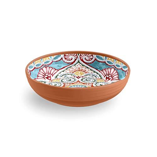 Epicurean Rio Corte Melamine Low Bowl