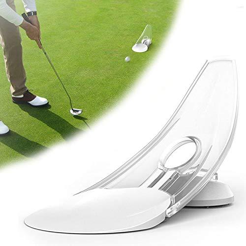 Putter de Golf | Equipo de práctica de Golf para Principiantes | Equipo de Entrenamiento de Putter de Golf portátil | Equipo de Golf de diseño parabólico