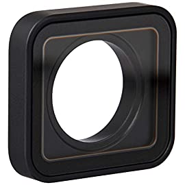 GoPro Camera Accessory Protective Lens Replacement for (HERO7 Black) - Official GoPro Accessory 1 Shields the interior Lens of your Hero7 Black from dirt, dust and scratches Easy to remove and replace-no tools needed Made with Corning Gorilla glass for exceptional strength