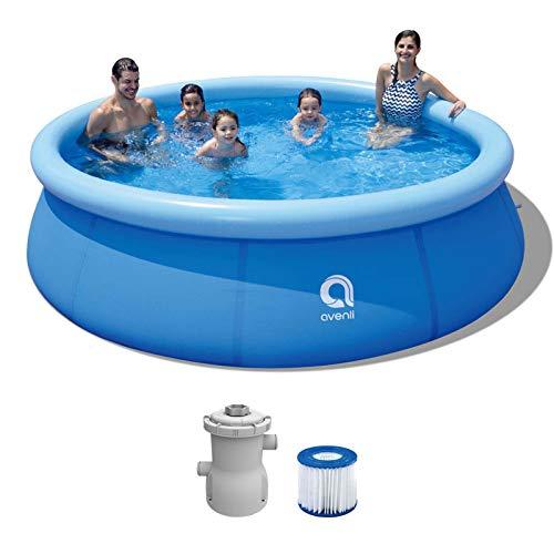 Swimming Pool mit Filterpumpe Gartenpool 305 x 76 cm