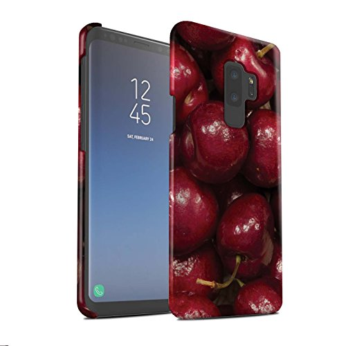 Stuff4® Phone Case/Cover/Skin/SG-3DSWM/Juicy Fruit Collection Samsung Galaxy S9 Plus/G965 kersen
