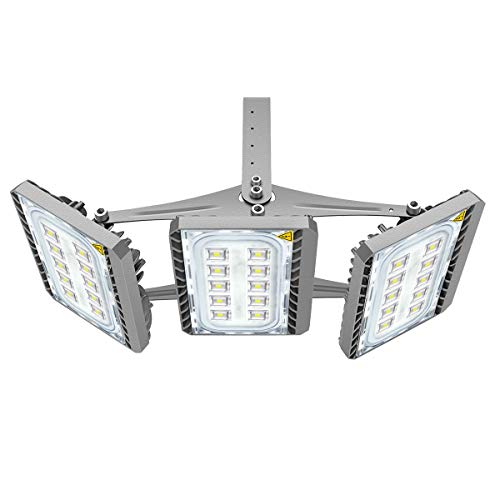 LED Flood Light, STASUN 150W Super Bright LED Security Lights Outdoor with Wider Lighting Area, 13500lm, 6000K Daylight, Built with Cree LED Chips, Waterproof, Great for Yard Garage Parking Lot