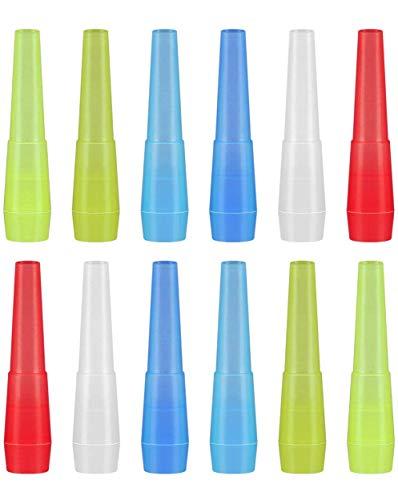 LIHAO 100 x Shisha Hygiene Mundstücke Kunststoff Einweg Hygienemundstück Wasserpfeife Zubehör Universal