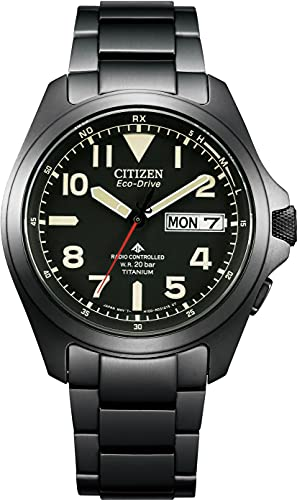 [Citizen] 腕時計 プロマスター AT6085-50E メンズ ブラック
