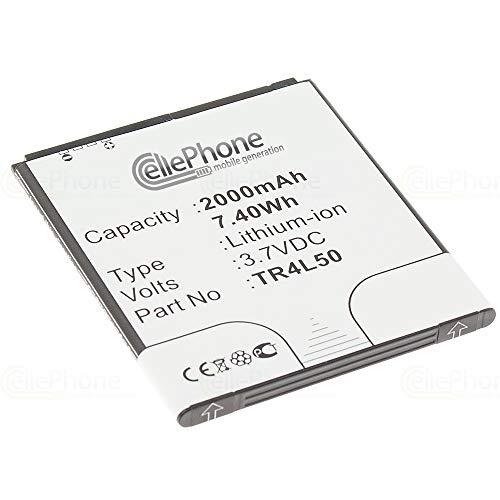 cellePhone batería Li-Ion para Kazam Trooper 450L (reemplazado TR4L50)