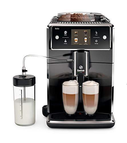 Saeco Xelsis SM7680/00 - Cafetera (TFT, 1,7 L, 450 g, A, 0,5 W), Negro