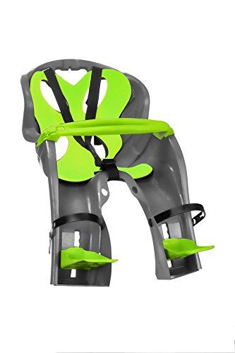 'Nfun simpático, Asiento Delantero Unisex con diseño de Niños, Antracita/Verde, M