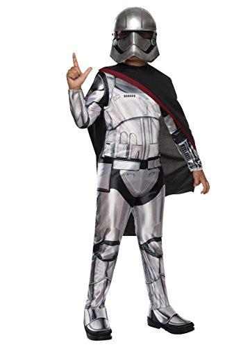 Generique - Déguisement Captain Phasma Star Wars VII Enfant 3 à 4 Ans (104 cm)