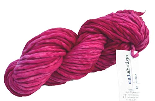 Malabrigo Rasta Super Bulky Merino Knitting Yarn Wool 150g Aniversario 05