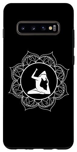 Galaxy S10+ Mandala Design Yoga Outfit Men Woman Kids Yoga Gift Case