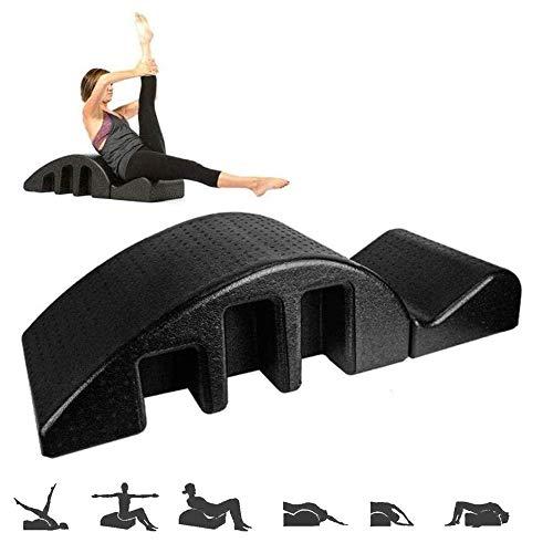 HSJLH Yoga Pilates Barril de Arco, Corrector de Columna Alineada Masaje Mal, el Arco del Rodillo de Equipos de Gimnasia, un Soporte postural la Curva de la Columna Vertebral